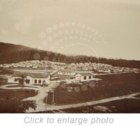 View of the Sungai Buloh Settlement. SOURCE-League of Nations Archives-UNOG Library.